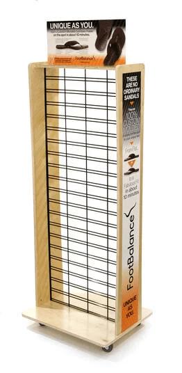 Lubanzi Retail Wood Displays