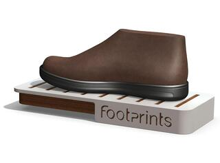 Footprints Point of purchase displays