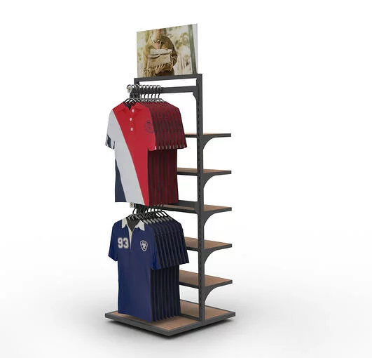ARIAT 2-SIDED APPAREL FIXTURE