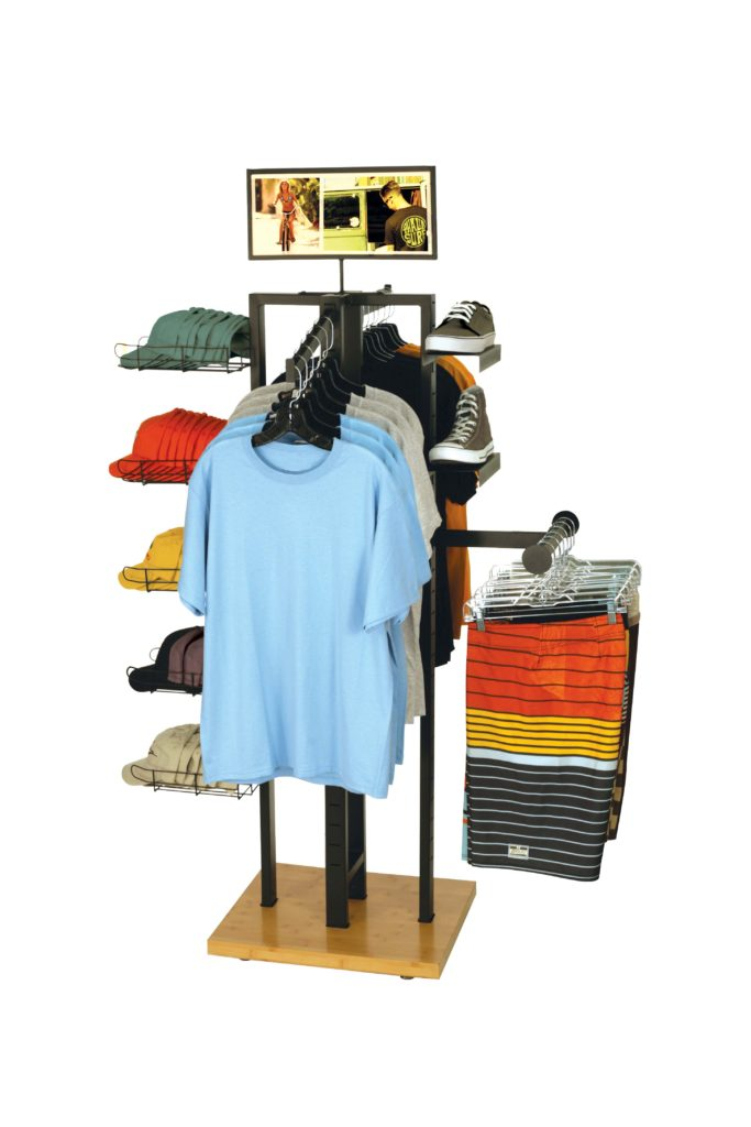 4-WAY BOARDSHORTS T shirt Display