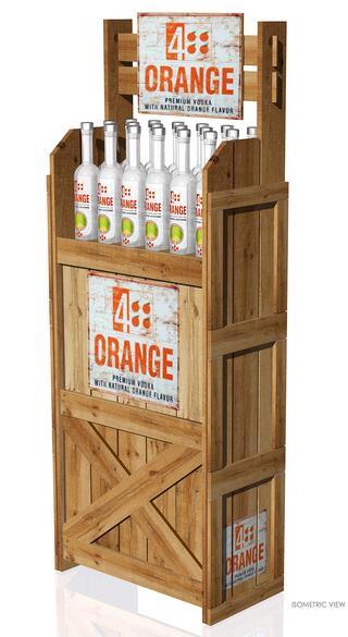4 Orange Point Of Purchase Design