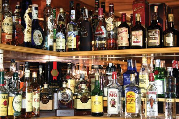 Alcohol point of purchase displays