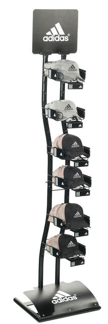 Adidas hat display stand
