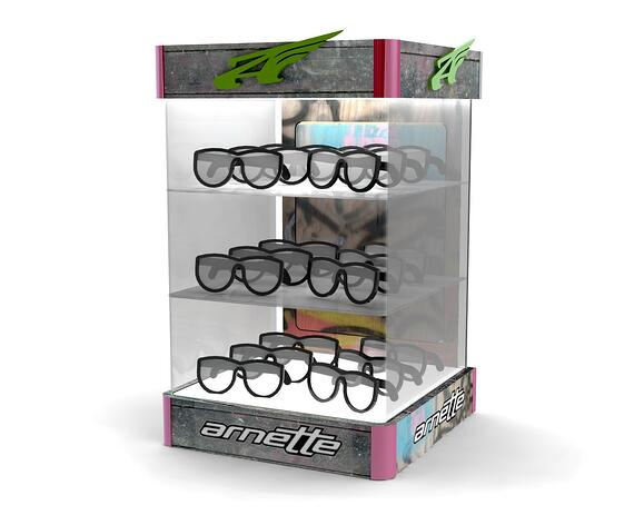 ARNETTE Sunglass Display Case