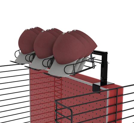AZ-CAPS hat display stand