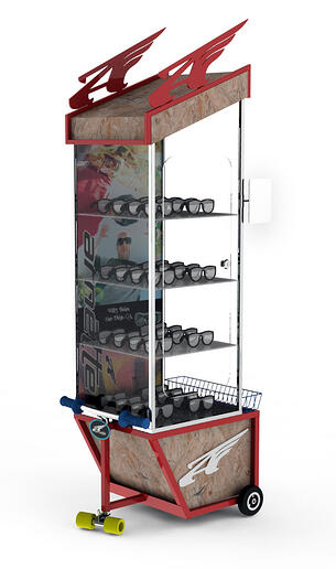 Arnette-run-sunglass-scooter-retail-pop-display