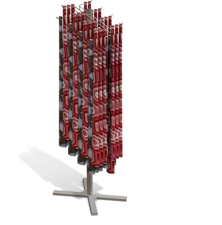BWM FL01 Scarf custom POP displays