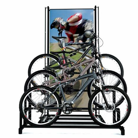 Big 5 Bike Rack Point of purchase design