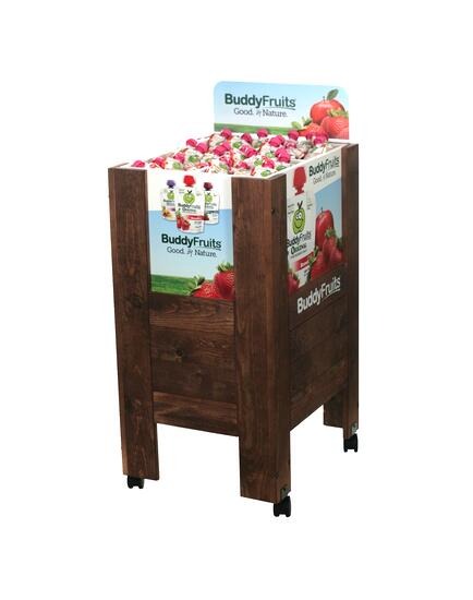 Buddy Fruit Wood Display