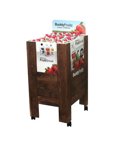 Buddy-Fruit FruitBreak Wood Displays