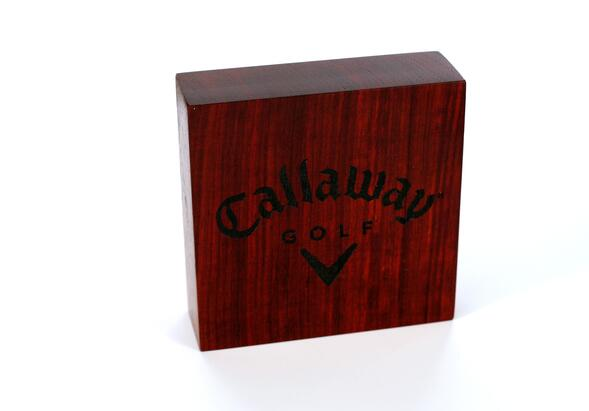Callaway Golf Wood Logo Blocks