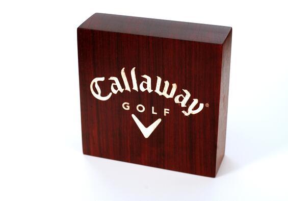 Callaway Golf Wood Logo Block