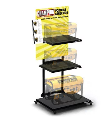 CHampiasn Generator Retail Display - Point of Purchase