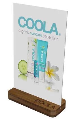 COOLA BROCHURE POP Displays