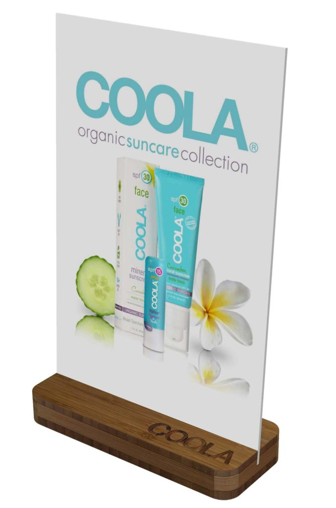COOLA POP display