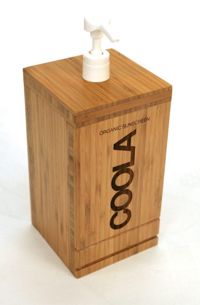 COOLA SUNCREEN BAMBOO PUMP retail POP displays