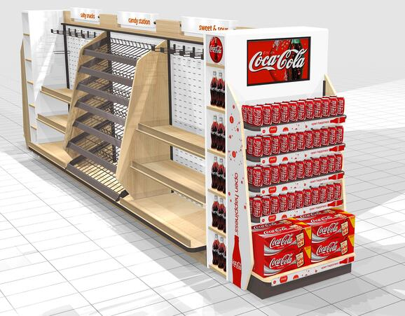 EXPRESS MART CANDY AND SNACK FIXTURE CONCEPTS 6 Point of Purchase design