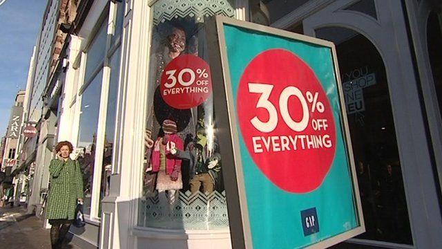 Christmas Retail Signs POP Displays