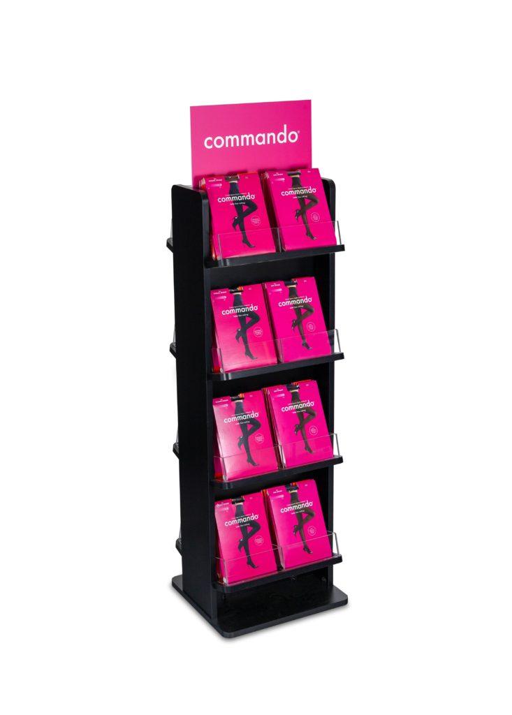 Commando Retail Wood Displays