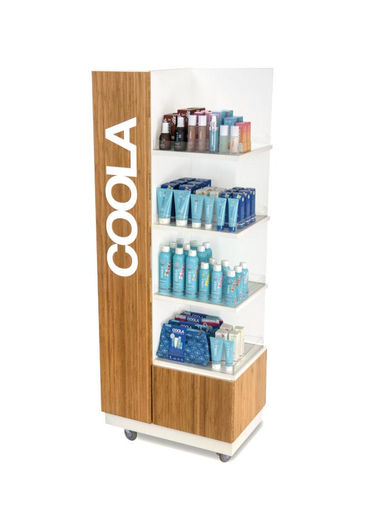 Coola left backpiece POP Displays