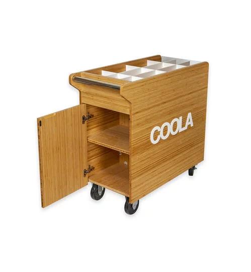 Coola cart open POP Displays