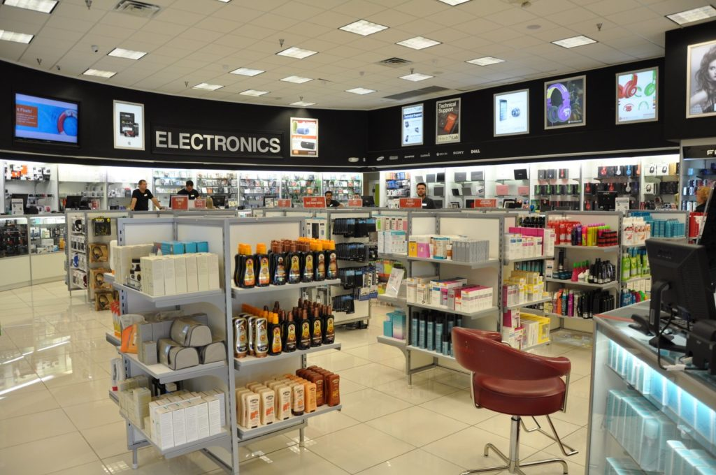 Electronic store Retail display manufacturers