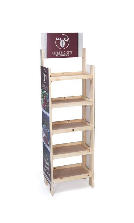 ECR wood displays