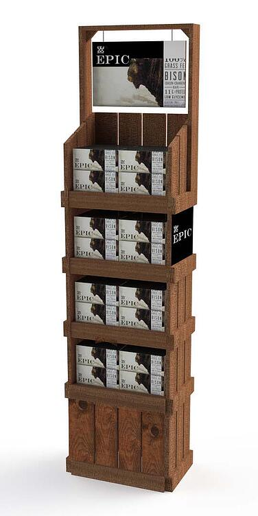 EPIC wood displays