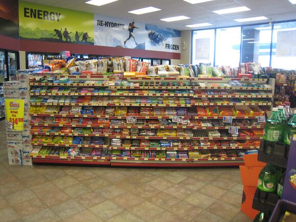 Express Mart Point of Purchase design