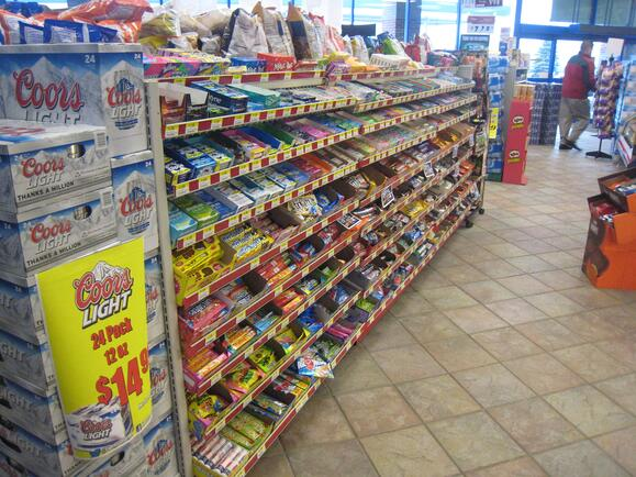 Express Mart 3 Point of Purchase design