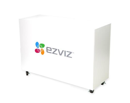 EzViz floor displays