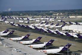 FEDEX Planes point of purchase displays