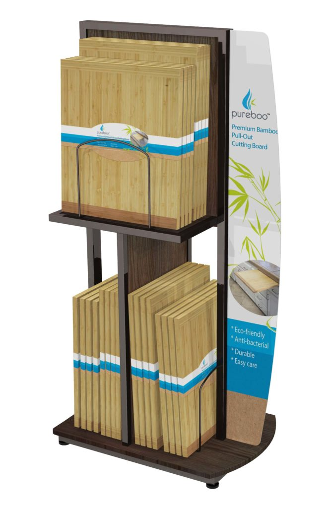 FLOOR UNIT CONCEPT 2 Retail POP display