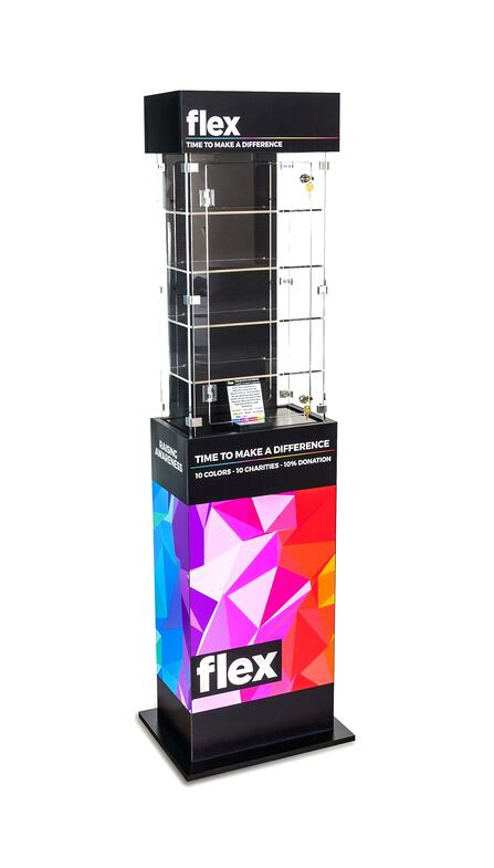 Flex Point of purchase design