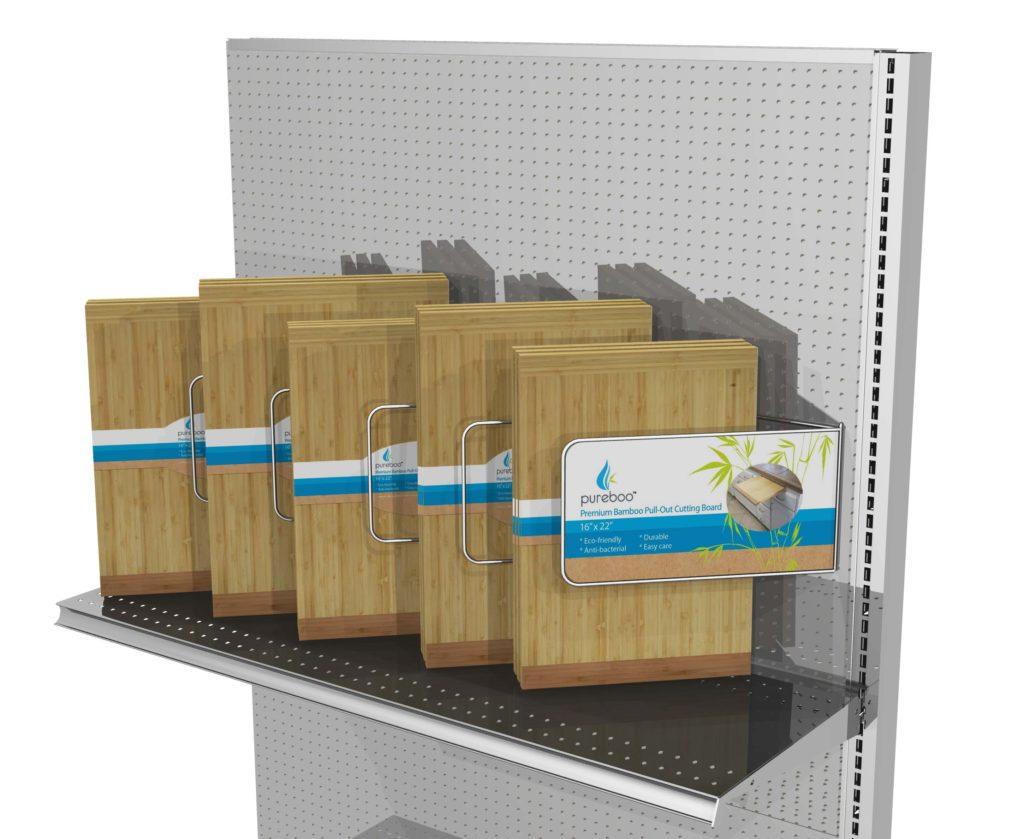 GONDOLA INLINE CONCEPT Retail POP display