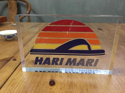 HARI MARI point-of-purchase signs