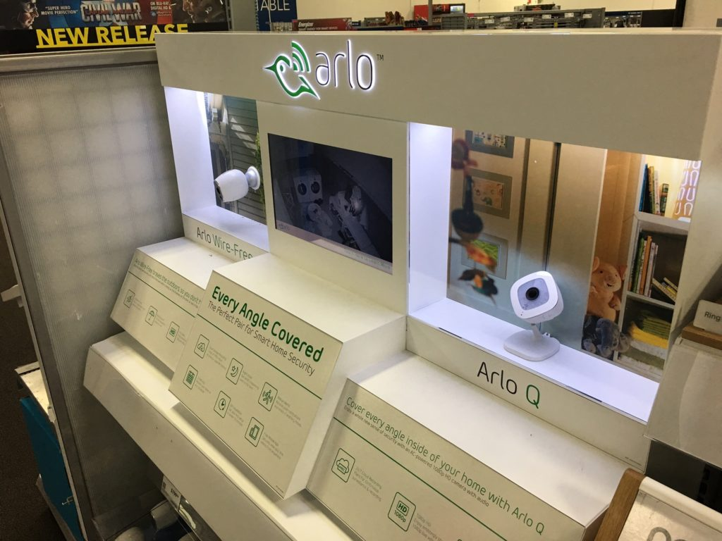 Arlo POP Displays