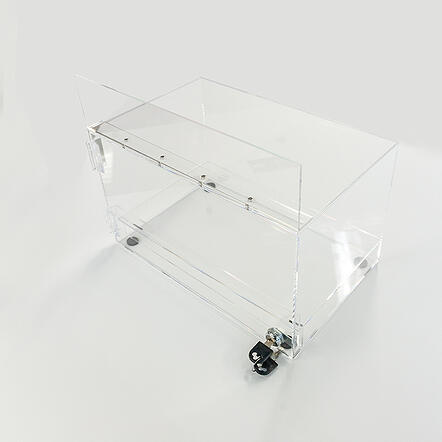 Acrylic case CBD displays