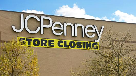JC Penney Closing point of purchase displays