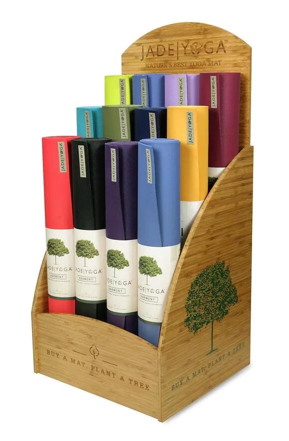 Jade Yog Bamboo Retail Display - Eco Friendly