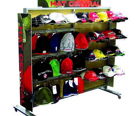 K-Mart hat display stand