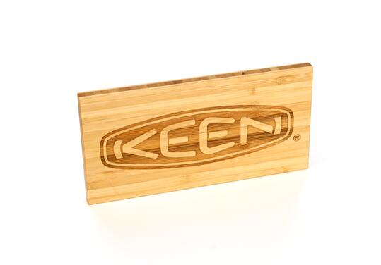 KEEN Bamboo Logo Block - Table Top