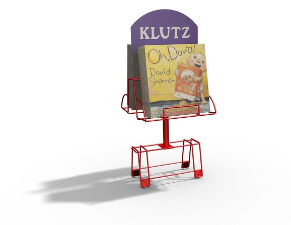 KLZ BOOK0 point of purchase displays