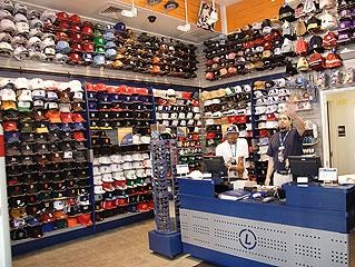 Lids point of purchase display