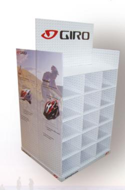 Giro corrugated display