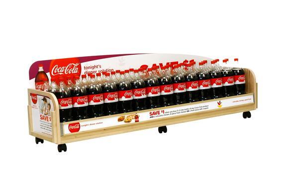 Coke large Custom Retail Displays