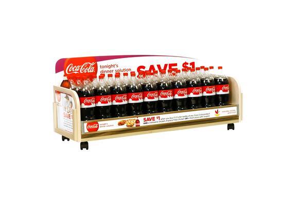 Coke small Custom Retail Displays