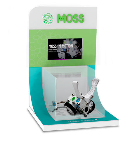 MOSS POINT OF PURCHASE TOY DISPLAY
