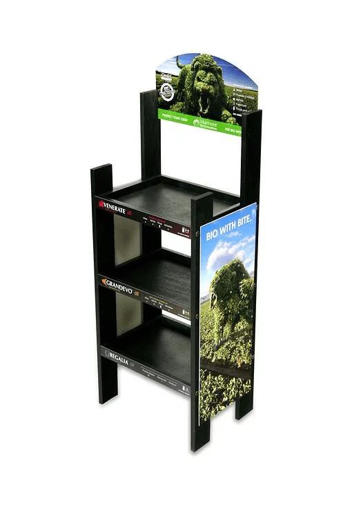 Marrone BIO Wood Displays