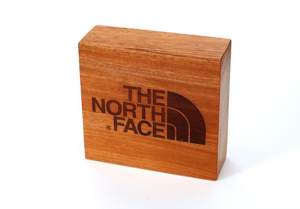 The North Face Laser Engraved Logo Blocks